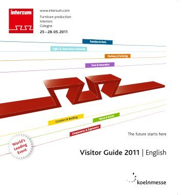 Visitor Guide 2011 | English - interzum
