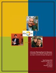 A Scenario Planning Report for Kinnexxus - Max Dunn
