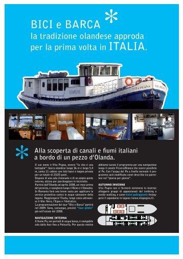 Bici e barca in Italia - Aboard the Vita Pugna