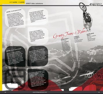 Gravity Teams & Riders