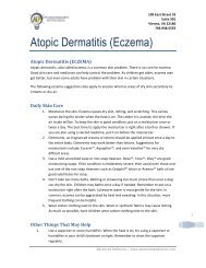 Atopic Dermatitis (Eczema) - Advanced Pediatrics