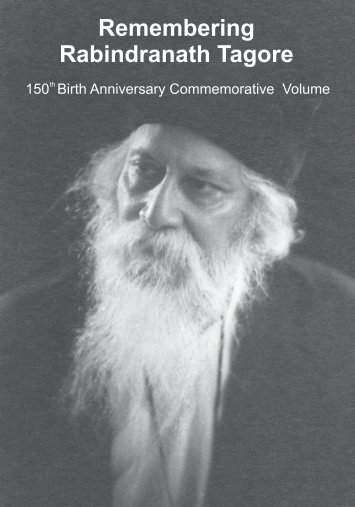 Remembering Rabindranath Tagore Volume - High Commission of ...