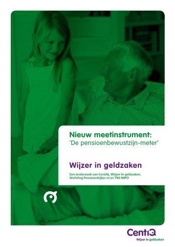 De pensioenbewustzijn-meter - Pensioenkijker.nl