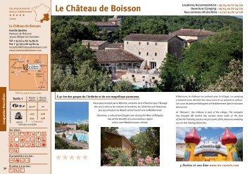 Le Château de Boisson - Les Castels