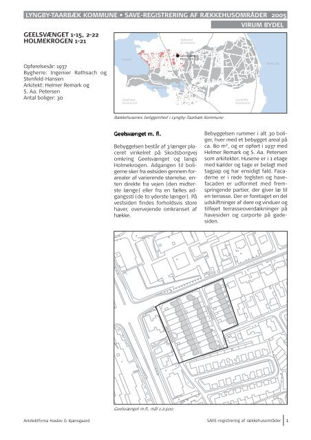 Geelsvænget 1-15, 2-22 - Lyngby Taarbæk Kommune