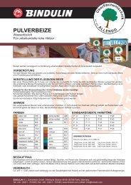 Pulverbeize PDF - Bindulin