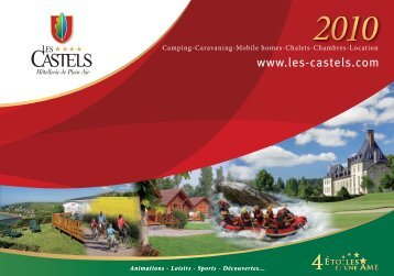 Welcome to LES CASTELS: a chain of campsites