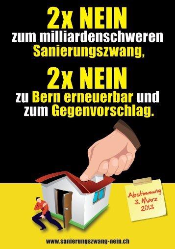 2x NEIN 2x NEIN - 2 x Nein zum milliardenschweren ...