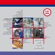 Machines - EW NEU GmbH Worms/Speyer – Werkzeuge, Maschinen