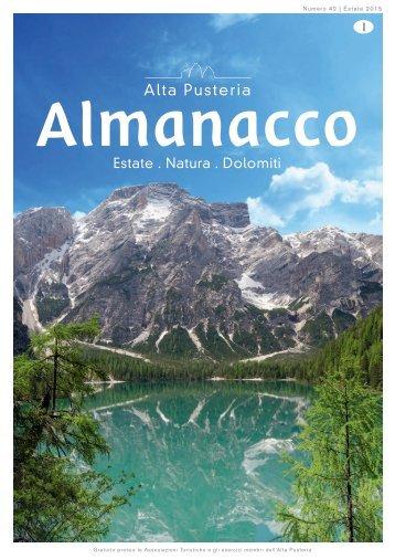 Almanacco Summer italiano 2015