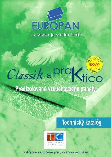 Europan - technický katalóg - Klimatechnik