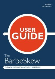 User Guide - The BBQ Store