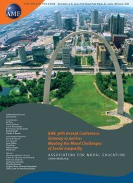 AME 36th Annual Conference Gateway to Justice - The Association ...