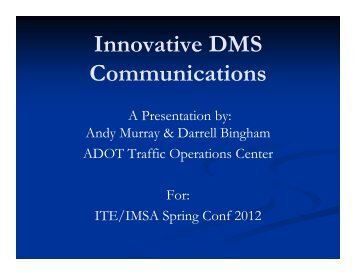 Innovative DMS Communications - azite