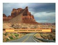 ADOT PAVEMENT MARKING UPDATE - azite