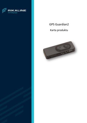GPS Guardian 2 - karta produktu - JelCar