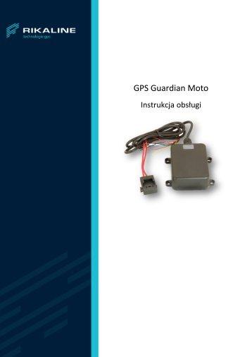 GPS Guardian Moto - instrukcja - JelCar