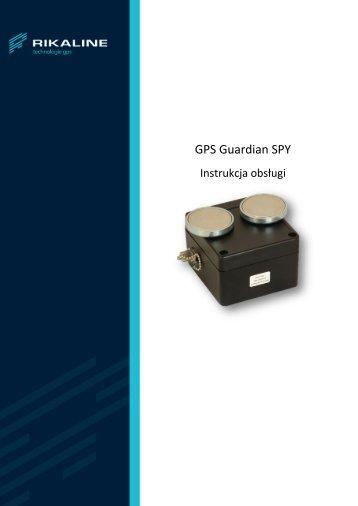 Gps Guardian Spy - instrukcja - JelCar