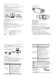 NAPÁJENÍ Přenosné reproduktory lze napájet pomocí 4xLR03 - EU3C