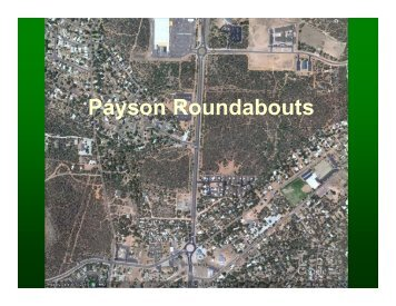 Roundabouts in Payson - azite