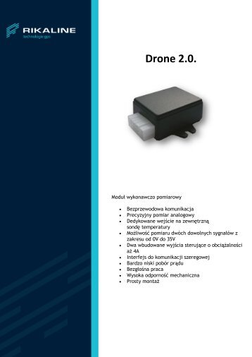 Drone 2.0 - broszura - Rikaline
