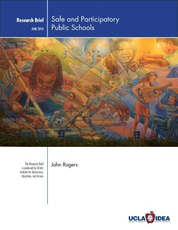 Safe and Participatory Public Schools - UCLA/IDEA