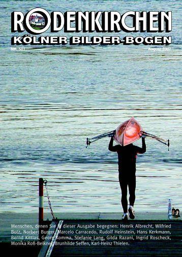 Menschen, denen Sie in dieser Ausgabe begegnen: Henrik Albrecht ...