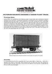 R22 U/HD Wooden Louvre Van - Steam Era Models