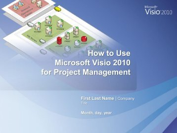 Microsoft Visio 2010 For Project Management | Visio Toolbox