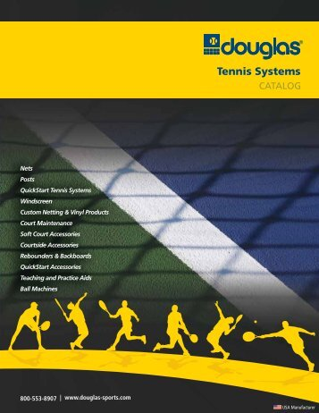 Tennis Systems - Douglas Sports Nets and Equipment