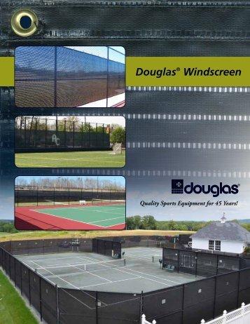 Douglas® Windscreen - Douglas Sports Nets and Equipment