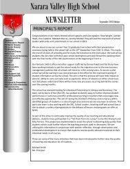September 2013 (pdf 4 MB) - Narara Valley High School