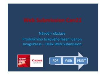 Český manuál ke stažení - Web Submission