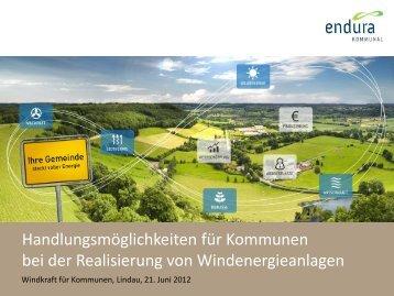 Projektentwickler - Endura kommunal GmbH