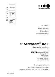 ZF Servocom - Paul Nutzfahrzeuge