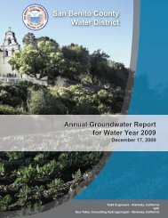 SBCWD Water Year 2007 Annual Report - San Benito County Water ...