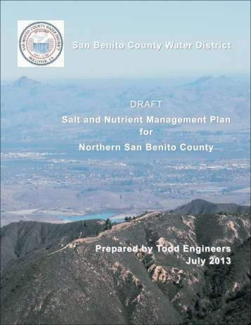 Draft Salt and Nutrient Management Plan.pdf - San Benito County ...