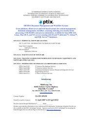 OPTIX® Document Management and Workflow ... - MindWrap Inc.