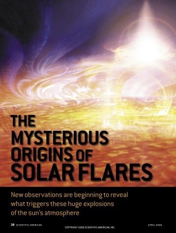 The Mysterious Origins of Solar Flares