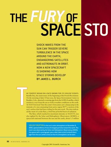 The Fury of Space Storms - danling.com