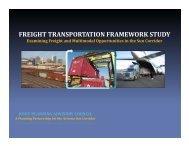 MAG Freight Framework Study - azite