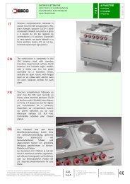 Scarica scheda tecnica (.PDF) - Desconet.it