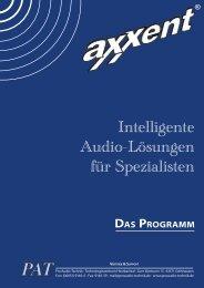 Katalog - Axxent