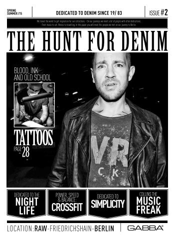 hunt FOR DENIM