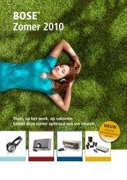 BOSE® Zomer 2010