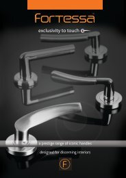 a prestige range of iconic handles designed for ... - MJ Whiteside