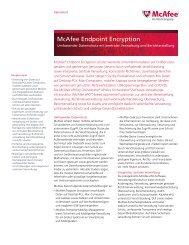 McAfee Endpoint Encryption - Bytes