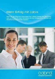 Mehr Erfolg mit cobra - Fluctus IT GmbH