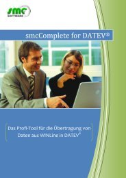 smcComplete for DATEV - Fluctus IT GmbH