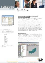 CAD Dokumente in ELO verwalten - Fluctus IT GmbH